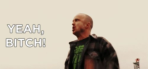 """Walt gives up. The cuffs are slapped on. His rights are read. 