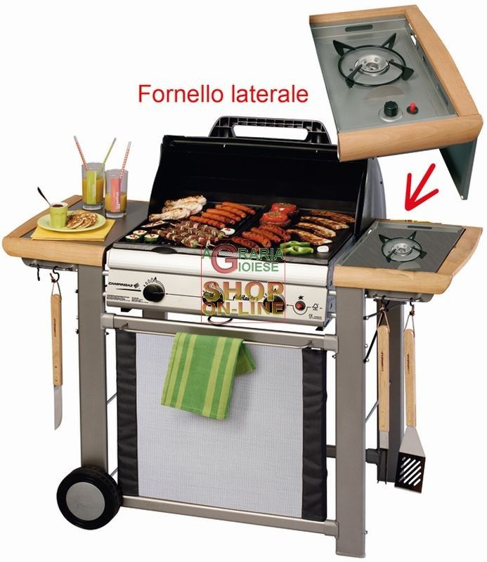CAMPINGAZ BARBECUE A GAS ADELAIDE 3L DLX 14 KW CON FORNELLO 203658 http://www.decariashop.it/barbecue-a-gas/3034-campingaz-barbecue-a-gas-adelaide-3l-dlx-14-kw-con-fornello-203658.html