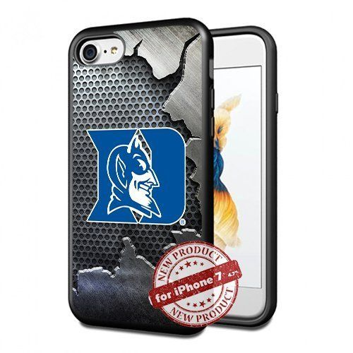 Duke Blue Devils College Basketball Apple iPhone 7 Case Cover Slim Rubber TPU by SURIYAN CASE, http://www.amazon.com/dp/B06XZ9S8GK/ref=cm_sw_r_pi_dp_x_1uuFzbKRB0R10