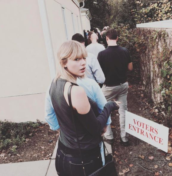 Yas she voted!!! Idec who she voted for but she did it!!!