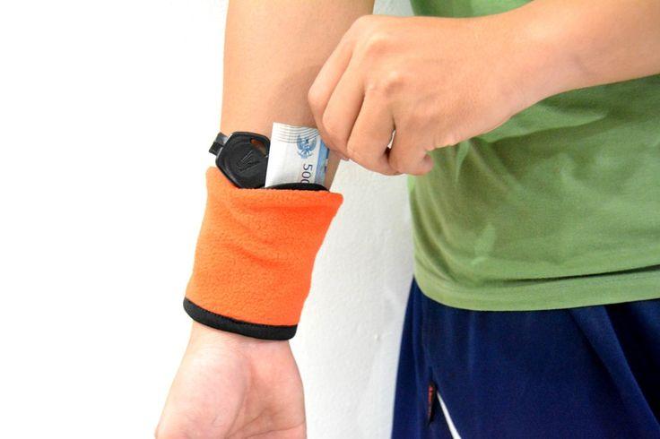 Wrist Wallet Orange Rp 35.000