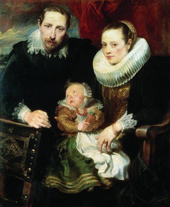 Антонис ван Дейк  -Семейный портрет. Также художник создавал семейные портреты и, так называемые, парадные портреты, одним из изобретателей которых он и является.