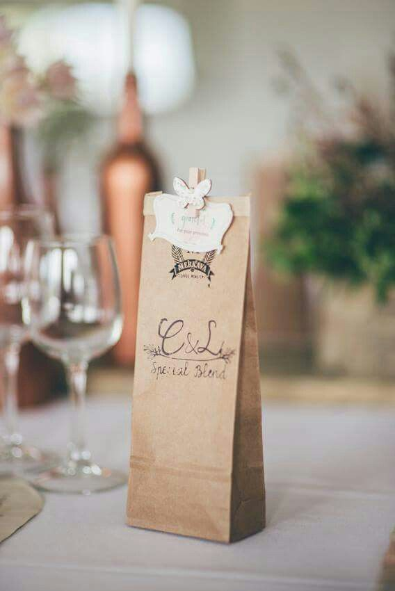 easy diy rustic wedding favors%0A Rustic merkava coffee gifts for our guests with our own logo