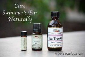 Cure swimmer's ear naturally with #essentialoils. Health Matters. Life Matters. alexismathews.com