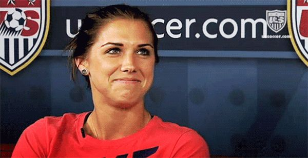 All with a smile on her face. | 25 Reasons Why Alex Morgan Is The PerfectLady