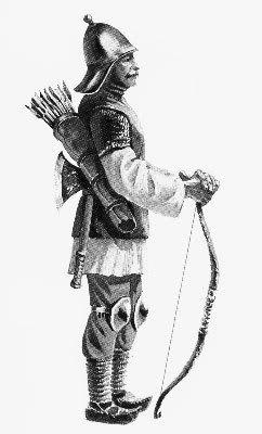 Молдовски стрелец с лък от 15ти век / XVth century Moldavian Archer