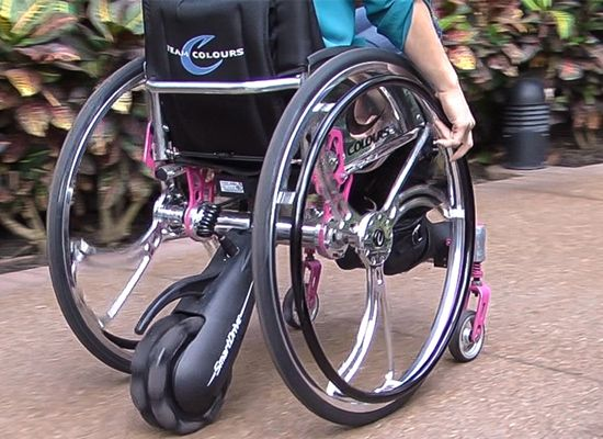 Max Mobility SmartDrive Wheelchair Accessory-Crytico.com