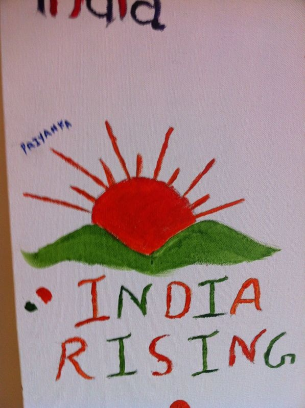 India rising #IndependenceDayFeviArtWay