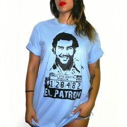 Camiseta Rulez Brand - Pablo Escobar - El Patron - Hip Hop wear - Envio Gratis