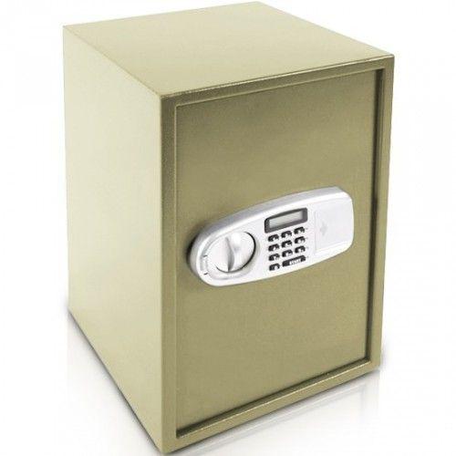 Elektroninen kassakaappi 2, 119,95€. Turvallinen kassakaappi arvoesineille. Ilmainen toimitus! #kassakaappi