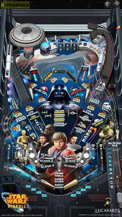 Star Wars Pinball 6 by ZEN Studios Ltd  is now Free for a limited