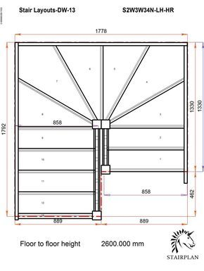 winder idea for the upstairs stairs.