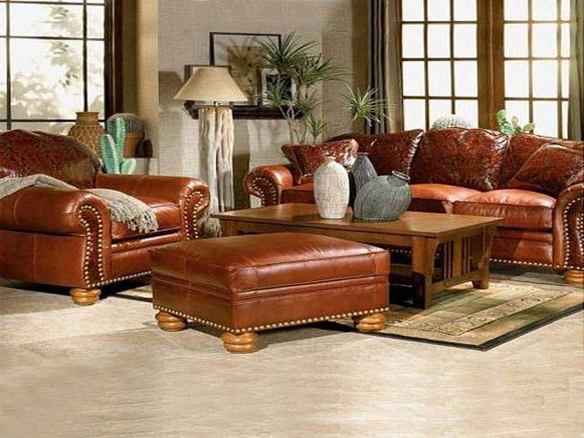 incredible decorating brown leather living room furniture | decorating with leather furniture | living room decorating ...