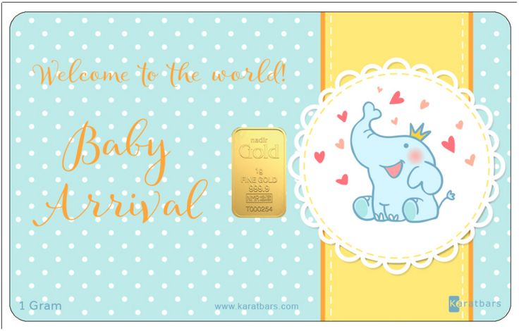 Nothing is more wonderful and spectacular than bringing a new life in to the world. This new edition is especially designed for a little prince.(BOY) For both family and friends, this one of a kind Baby Card is the perfect gift for a new born. What an incredible way to commemorate the birth of that special child by gifting them with a product that will continue to grow in value as each year passes. Be the first to order this lovely Card for just $71.07