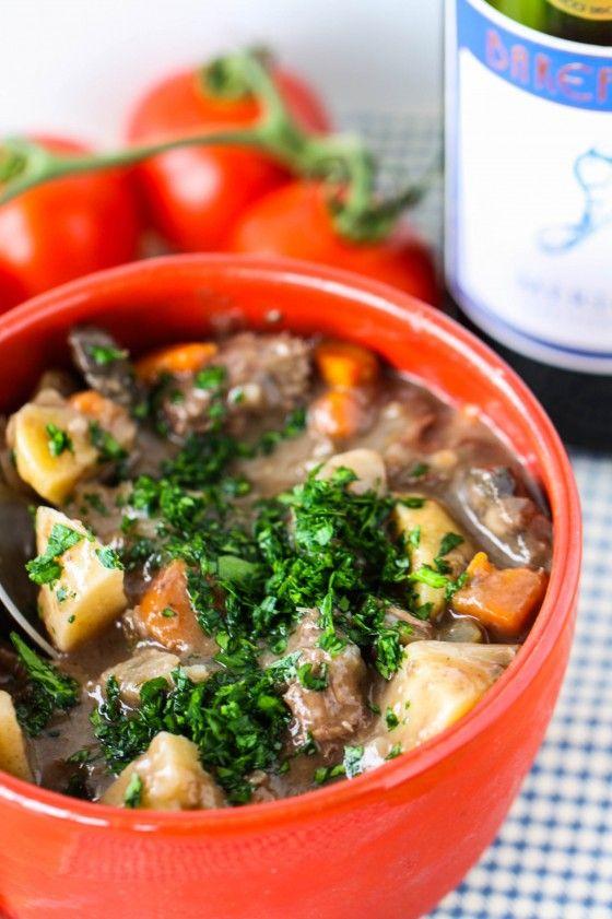 Beef Stew With Merlot Comidas Sanas Comida Y Sopas