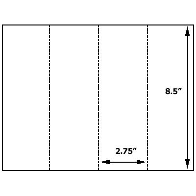 Miller Pads & Paper offers all you need to design your own bookmarks. Here is the paper on which to create these useful items. Includes 20 bookmarks.