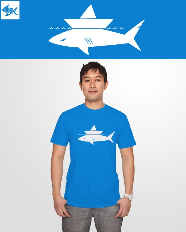 please vote my design on Threadless  http://www.threadless.com/submission/430312/shark_and_boat