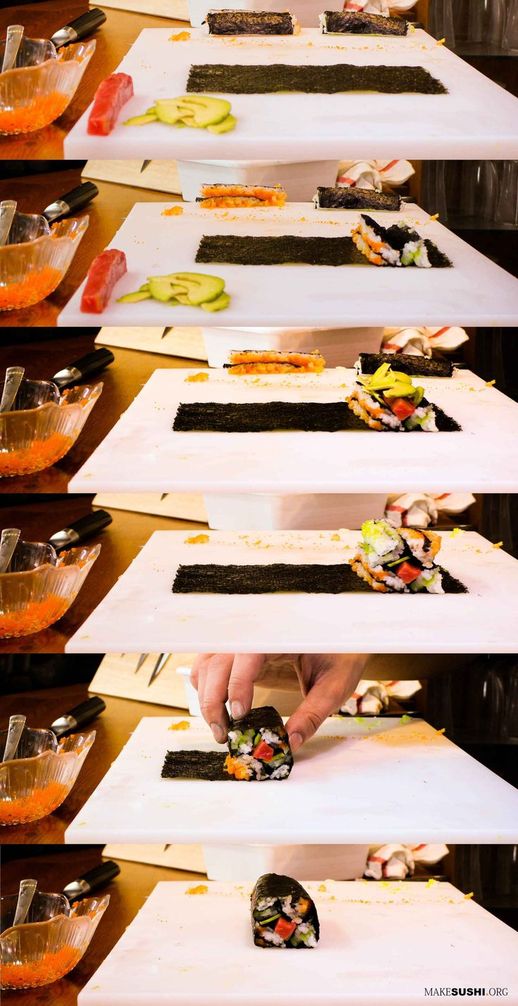 how to learn sushi chef