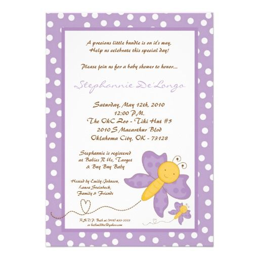 Butterfly Baby Shower Invites: 312 Best Images About Butterfly Baby Shower Invitations On