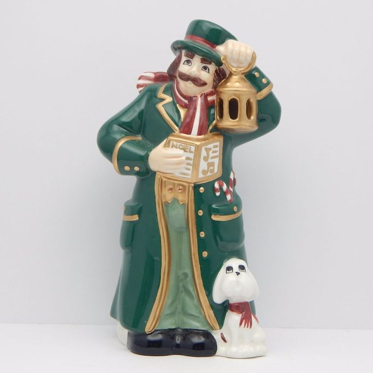 Ceramic Christmas Caroler Figurines Parma By Thepokeypoodle: 52 Best Images About Collectible Figurines & Miniatures On