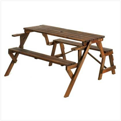 Convertible Garden Table