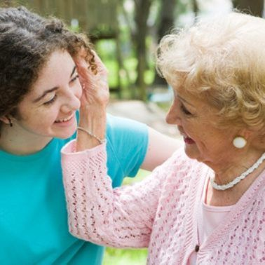 A grandmother's job never ends. Many grandmothers in our society step in to raise children when their mother is unavailable. Even in the best of situations, having a grandmother to help with child raising and to provide a softer touch is often a welc