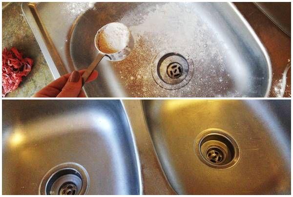 Csillogni-villogni fog az inox mosogatód, ha ezt a módszert kipróbálod!