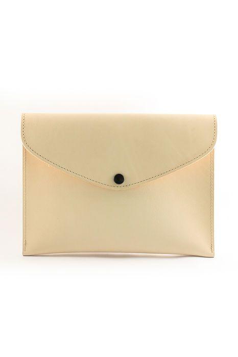 Rosemari Natural leather envelope handbag