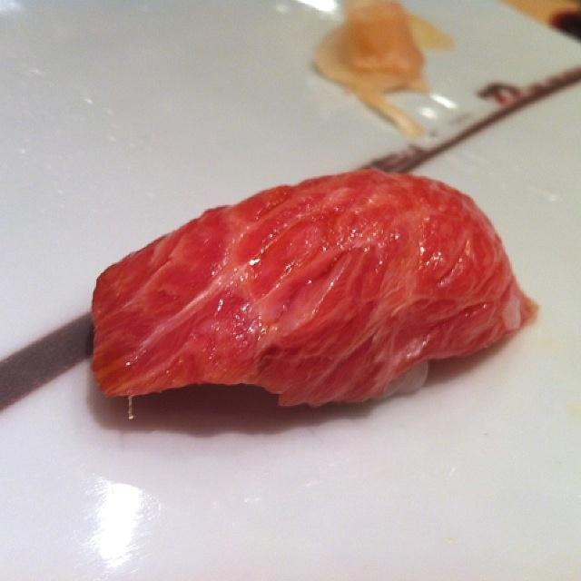 Otoro Nigiri Sushi 久兵衛の大トロ