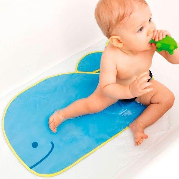 SkipHop alfombra antideslizante para el baño de los bebés y