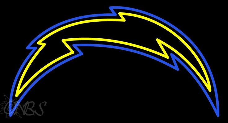San Diego Chargers NFL Logo Neon Sign