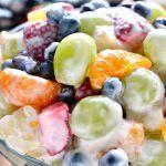 Skinny Ambrosia Fruit Salad