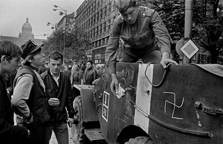 CZECHOSLOVAKIA. Prague. August 1968.
