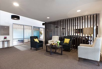 Aged Care Reception Living/Dining