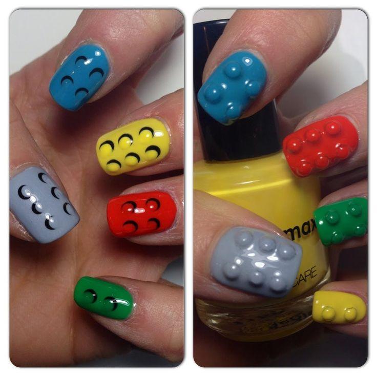 2 ways 4 LEGO NAILS | mikeligna
