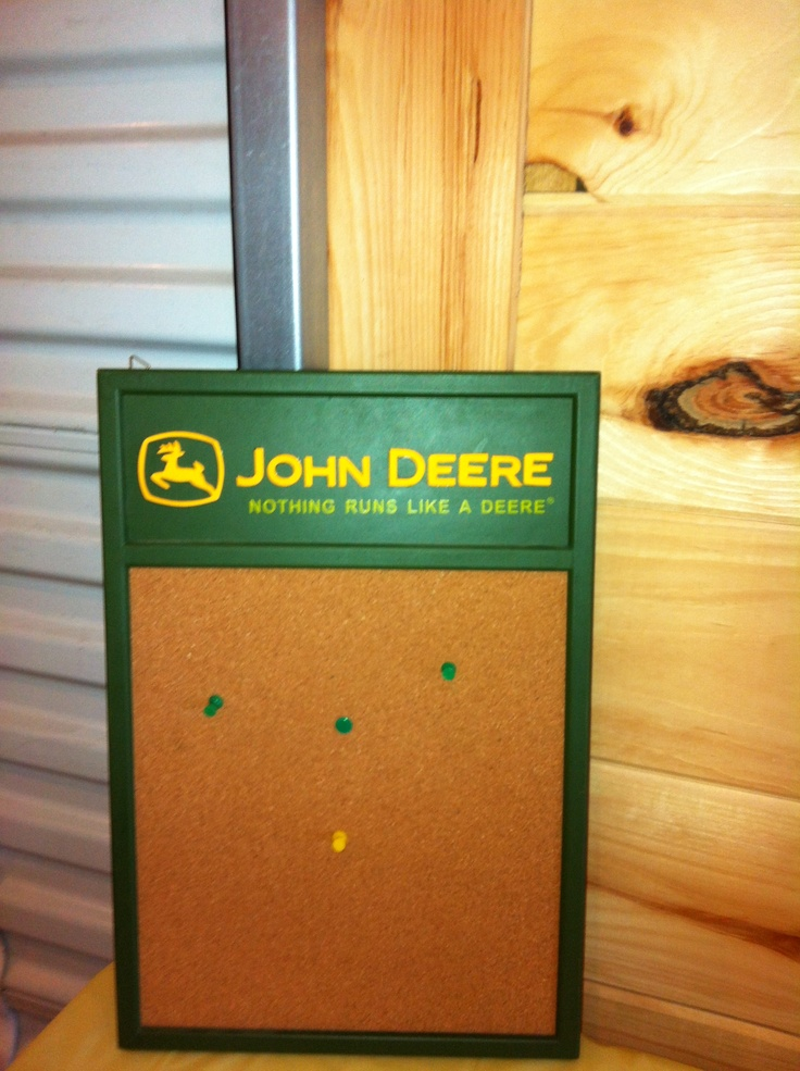 John Deere Board..would Be Perfect For A Kitchen, Office Or A Kids