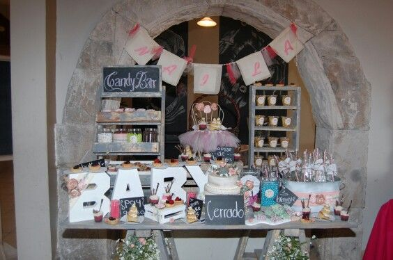 Candy Bar La Marilou Baby Shower
