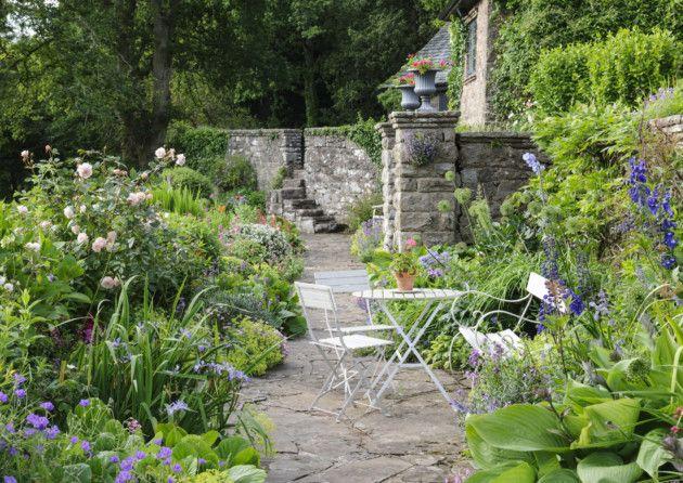 Craftsmanship including stonework were also important elements of Arts & Crafts gardens. Credit: Jason Ingram