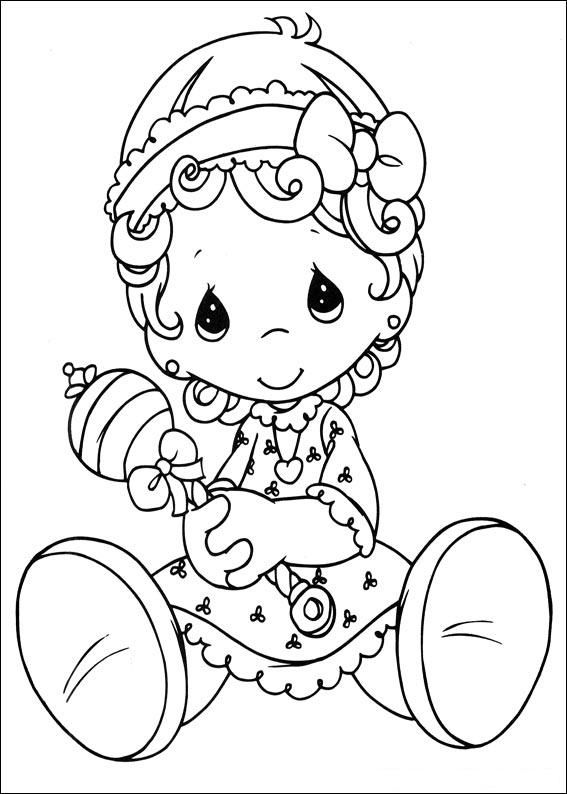 1000 images about precious moments holly hobbie etc coloring pages on pinterest. Black Bedroom Furniture Sets. Home Design Ideas