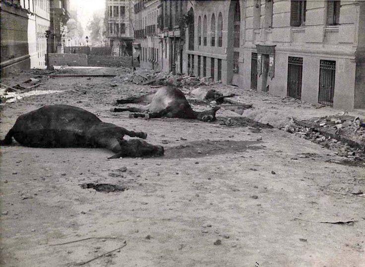 Spain - 1936. - GC - Calle Martín de los Heros, Madrid