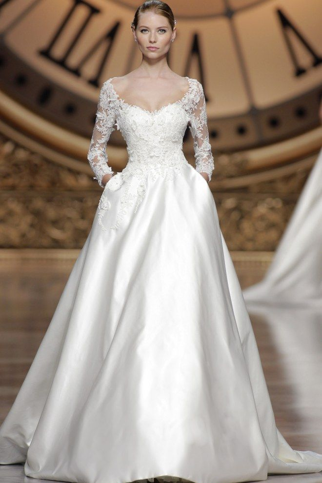 Robe de mariée hiver Pronovias
