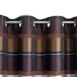 Závěs TRUMMEN 140x245 cm hnědý