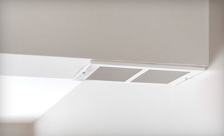 Groupon - $ 49 for a Whole-House Air-Duct Cleaning with a Dryer-Vent Cleaning and an AC Checkup from It's Duct Time ($ 318 Value). Groupon deal price: $49.00