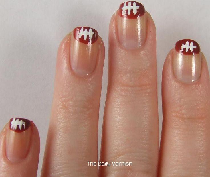 Nail Art: Football Tips | The Daily Varnish
