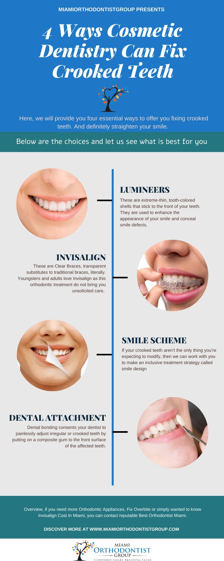 4 Ways Cosmetic Dentistry Can Fix Crooked Teethcosmetic