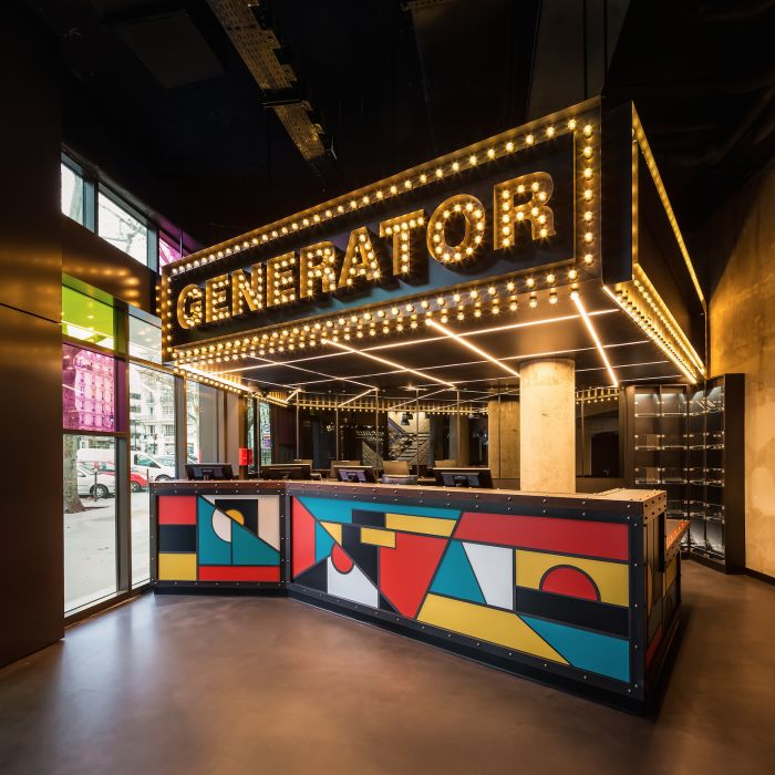 Niet duur, wel hip: slapen in de Generator in Parijs @Feelingmagazine
