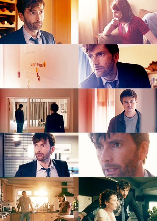 Broadchurch, episode 1. So we can get our DT fix.  Just brilliant