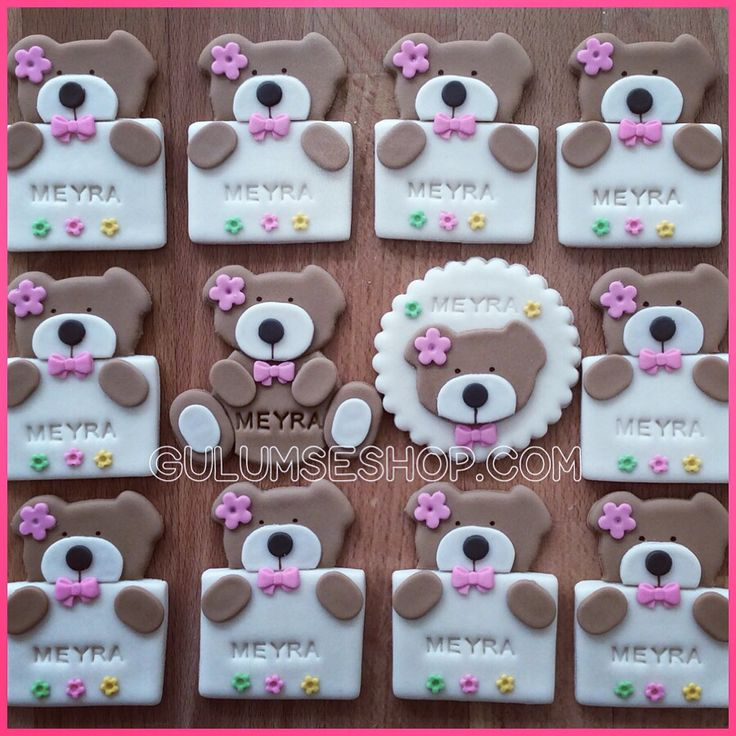 Babyshower gifts. Bear Magnet