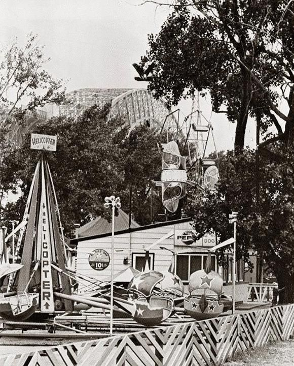 At the Amusement Park on the beach strip near the canal in 1966