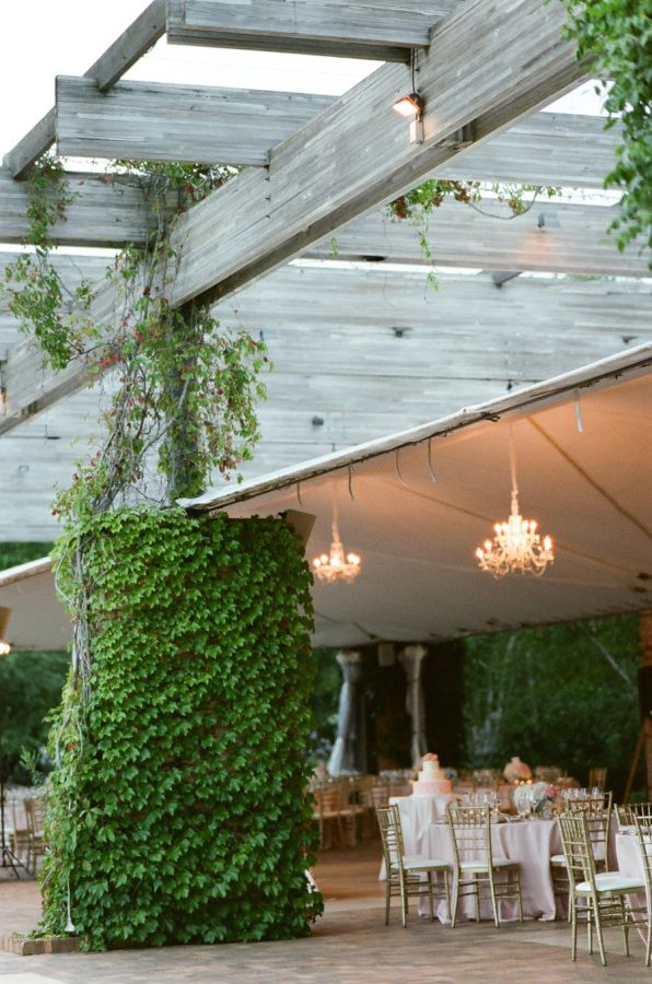 outdoor wedding venues minneapolis%0A Romantic Chicago Botanic Garden Summer Wedding